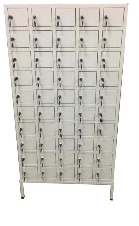 50 Compartment Handphone Locker with Cam Lock-3